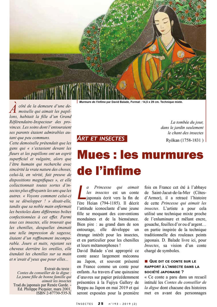 Article INSECTES expo MUES 1