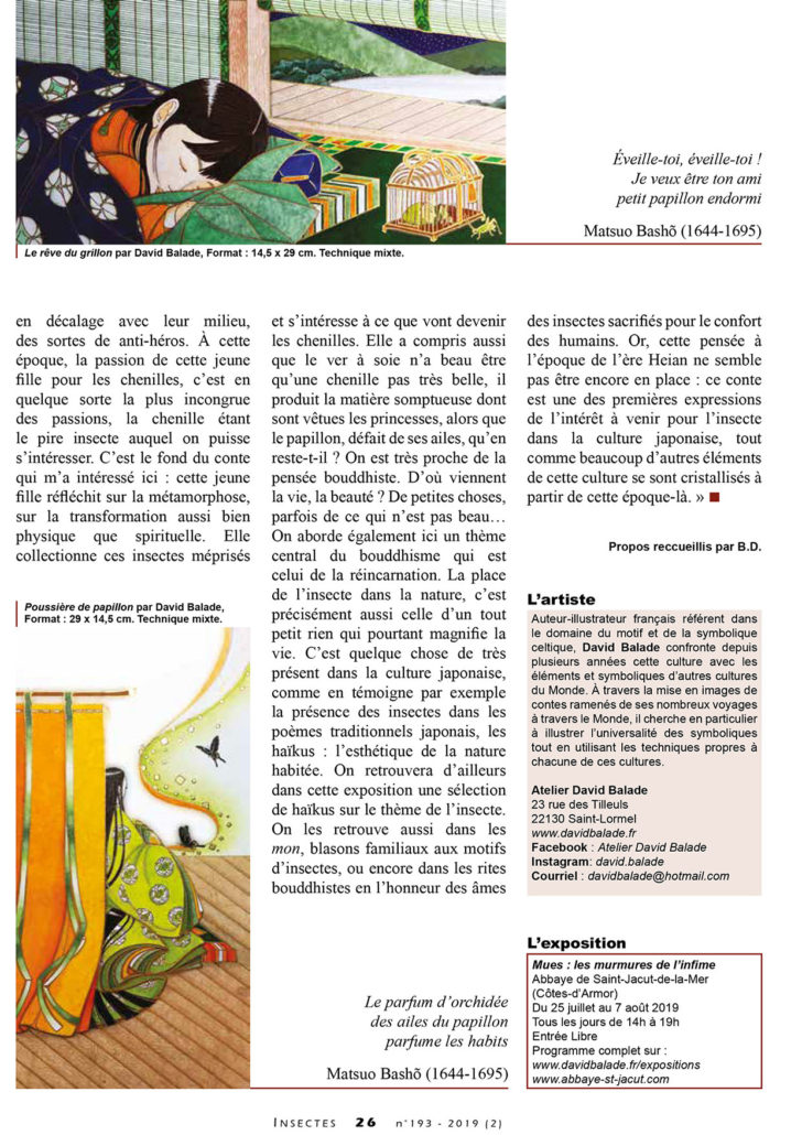 Article INSECTES expo MUES2