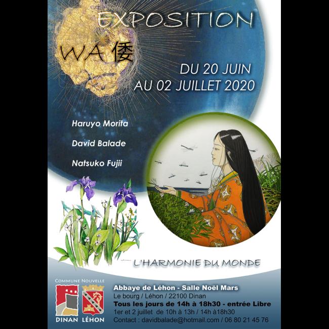 David Balade affiche exposition Lehon Wa