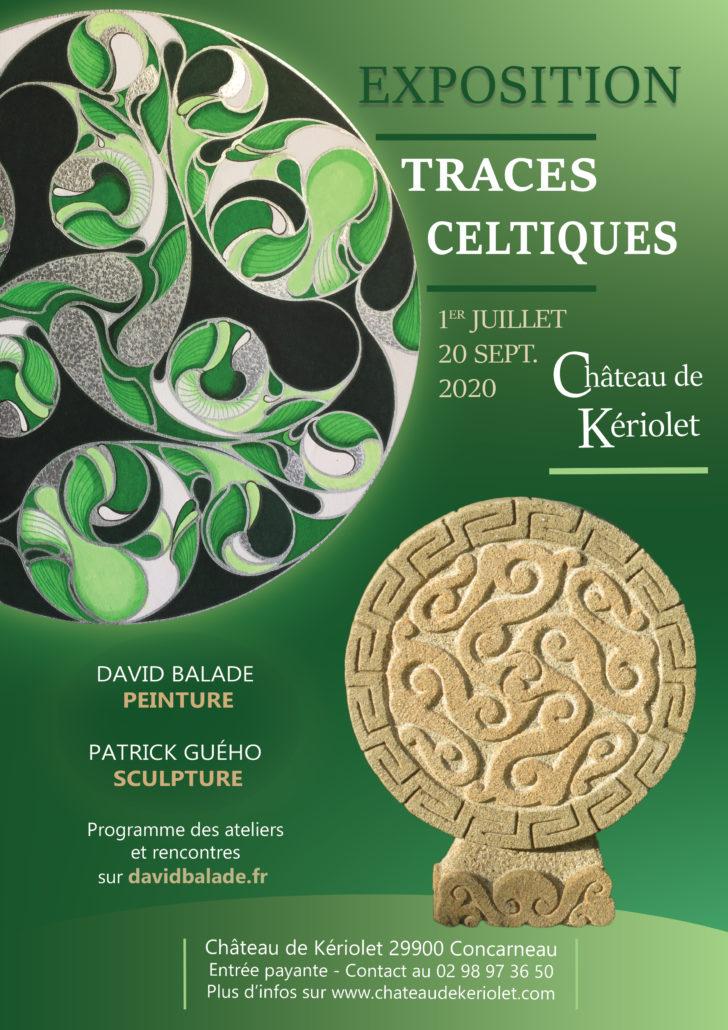 Affiche Traces Celtiques