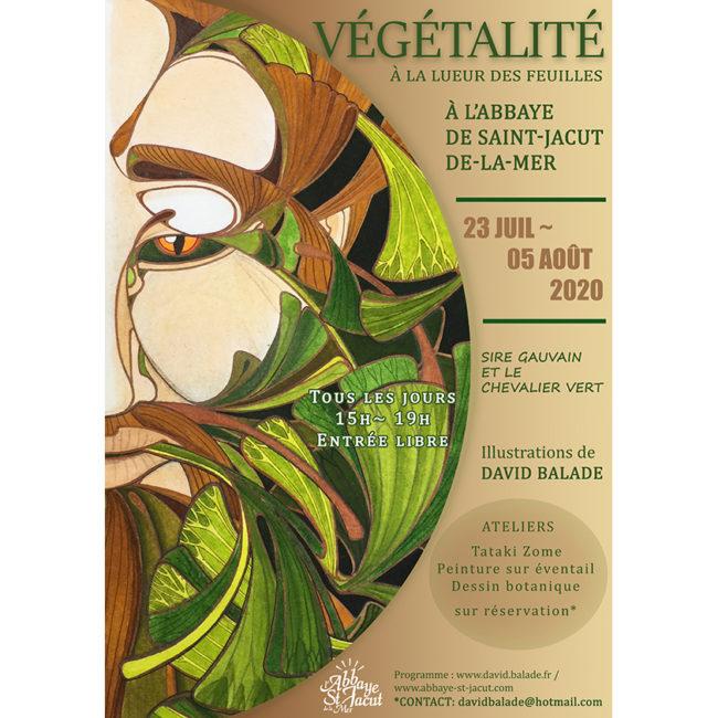Affiche exposition Végétalité