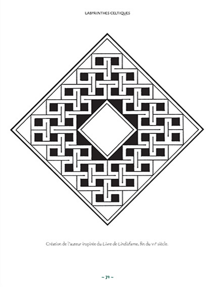 Les plus beaux motifs celtiques page 71