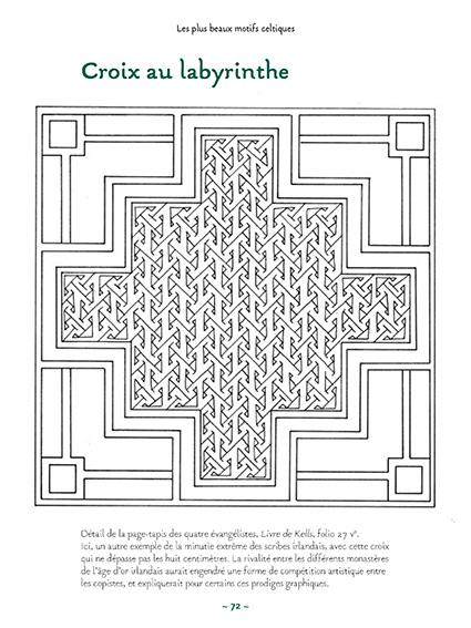 Les plus beaux motifs celtiques page 72