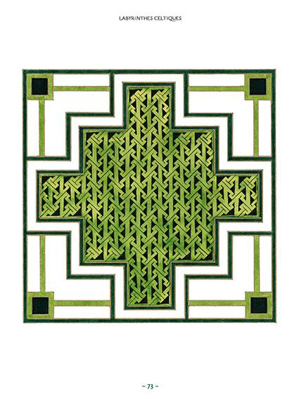 Les plus beaux motifs celtiques page 73