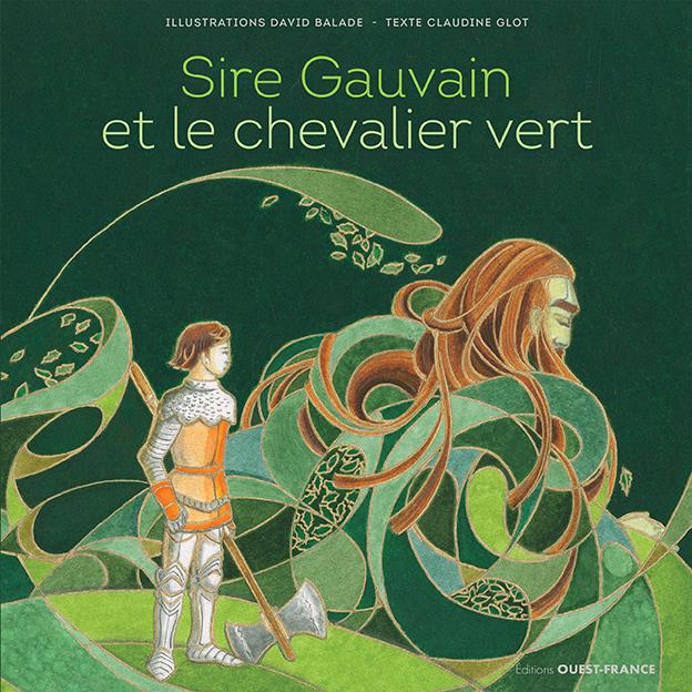 Couverture Sire Gauvain et le Chevalier Vert 2021
