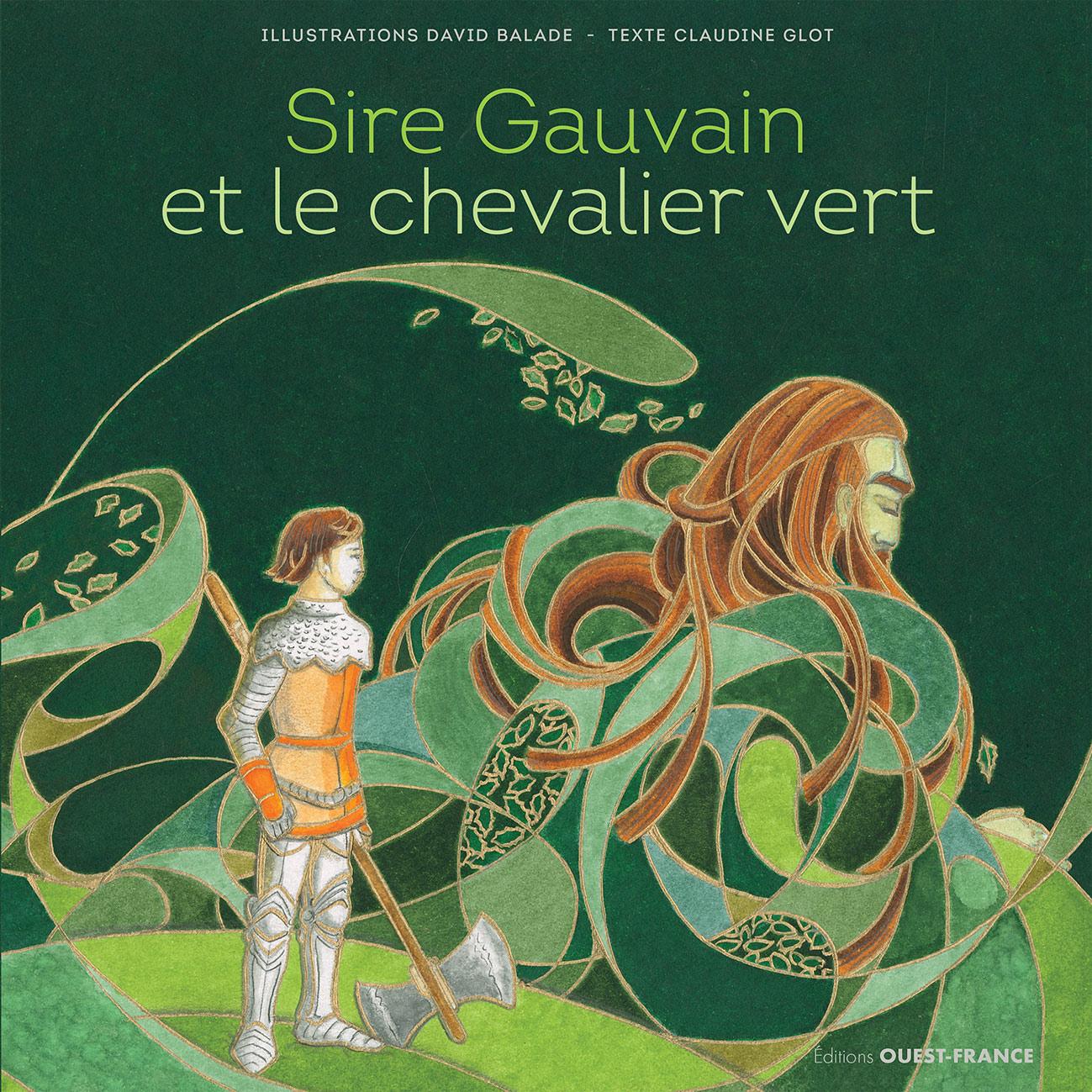 Couverture Sire Gauvain et le Chevalier Vert
