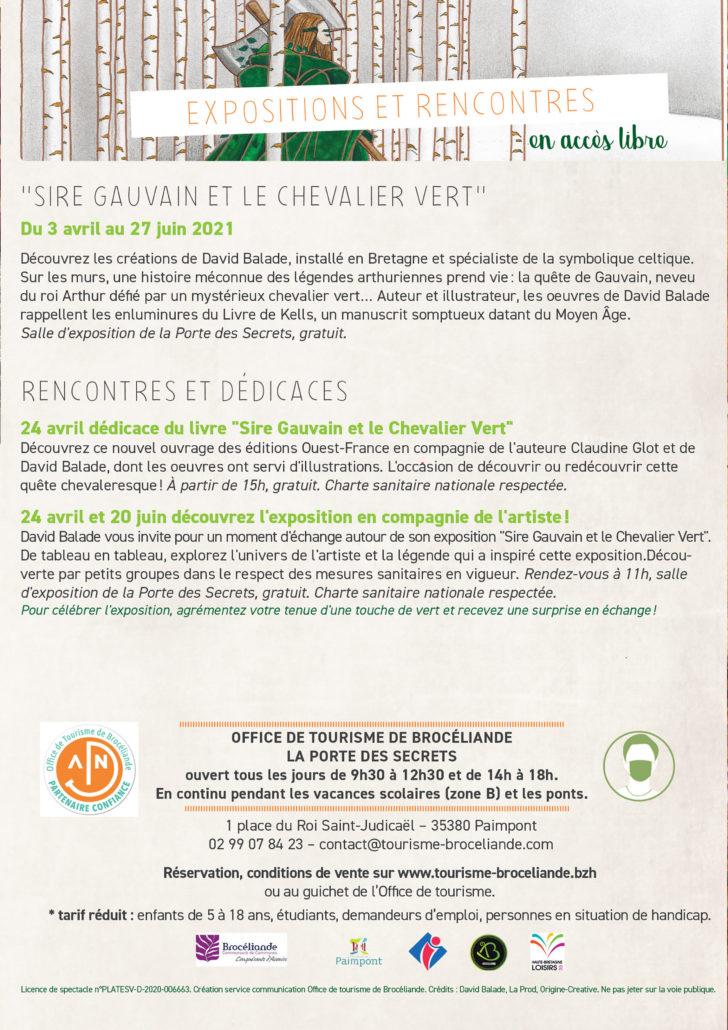 Flyer 3 Paimpont rencontres David Balade