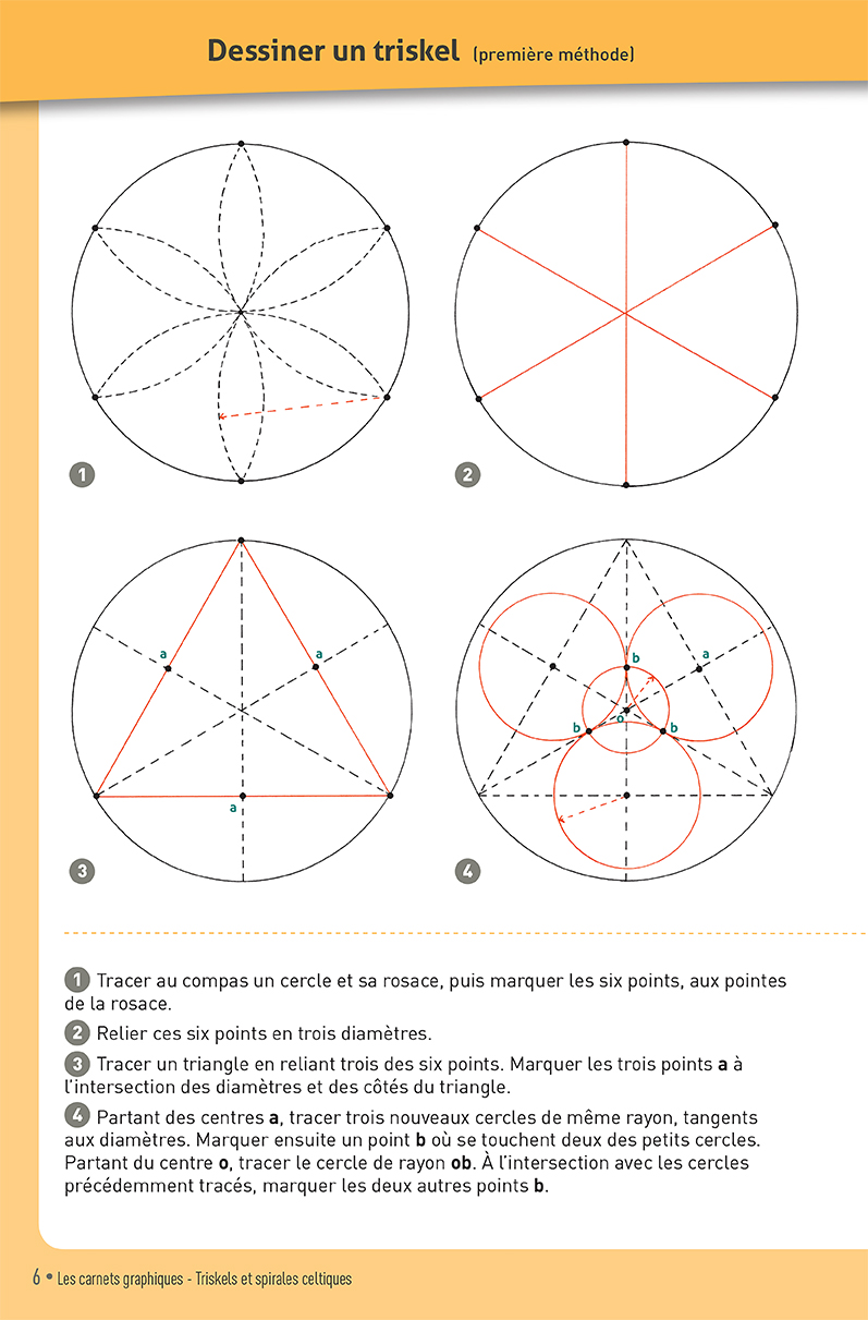 Carnet graphique: triskels et spirales celtiques page 6