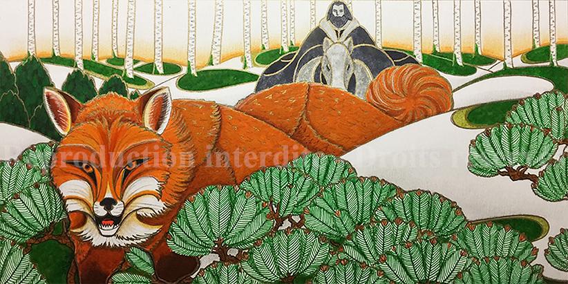 Les ruses du roux illustration Sire Gauvain et le Chevalier Vert