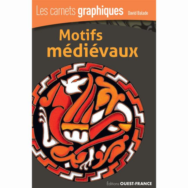 Couverture Les carnets graphiques Motifs medievaux carree