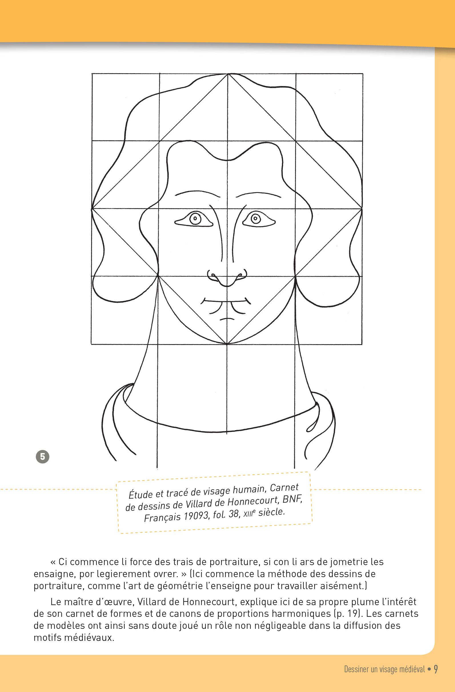 p.9 carnet graphique motifs medievaux