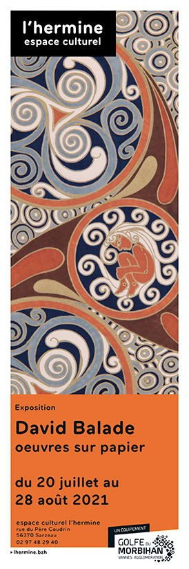 Affiche Sarzeau Oeuvres Celtiques été 2021